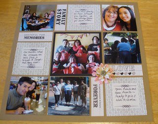 Family Scrapbook Ideas Mosaic Moments Photo Collage System