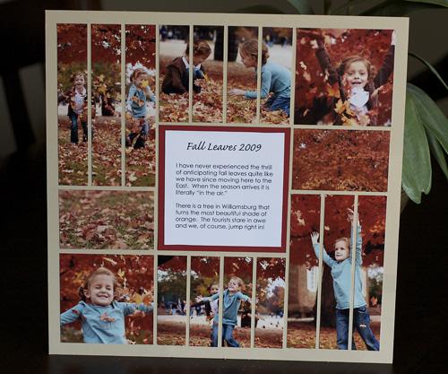 Fall Leaves Mosaic