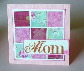 Mother 39 s day card ideas to make mosaic moments photo Good ideas for mothers day card