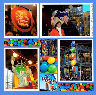 M&m world wb